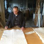 1 Günther Uecker in seinem Atelier