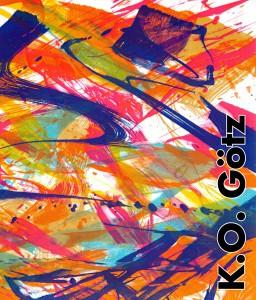 """Katalog-Cover """"100 Jahre K.O. Götz - Das grafische Werk"""""""