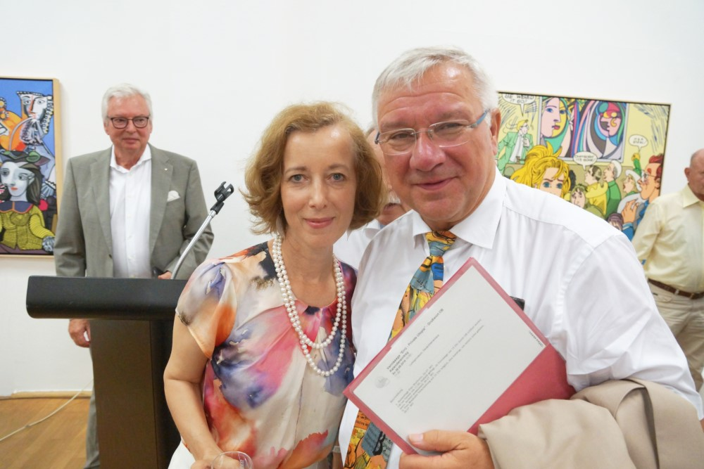 Prof. Dr. Beate Reifenscheid u. Prof. Dr. Joachim Hofmann-Göttig